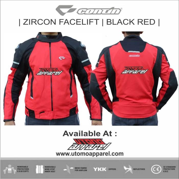 Foto Produk Jaket Contin Zircon Facelift RED - Merah dari Utomo Adventure