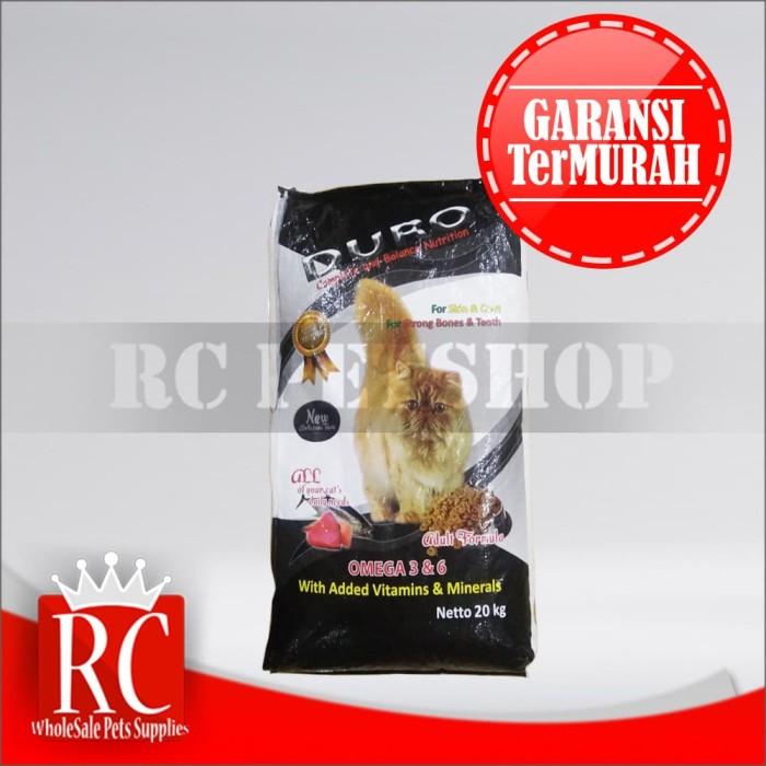 harga Cat food / makanan kucing duro cat tuna 20kg Tokopedia.com