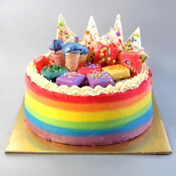 harga Rainbow cake Tokopedia.com