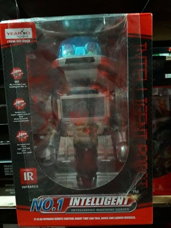 Foto Produk Mainan Robot Pintar No 1 Remote Intelligent Robot dari SM Toys