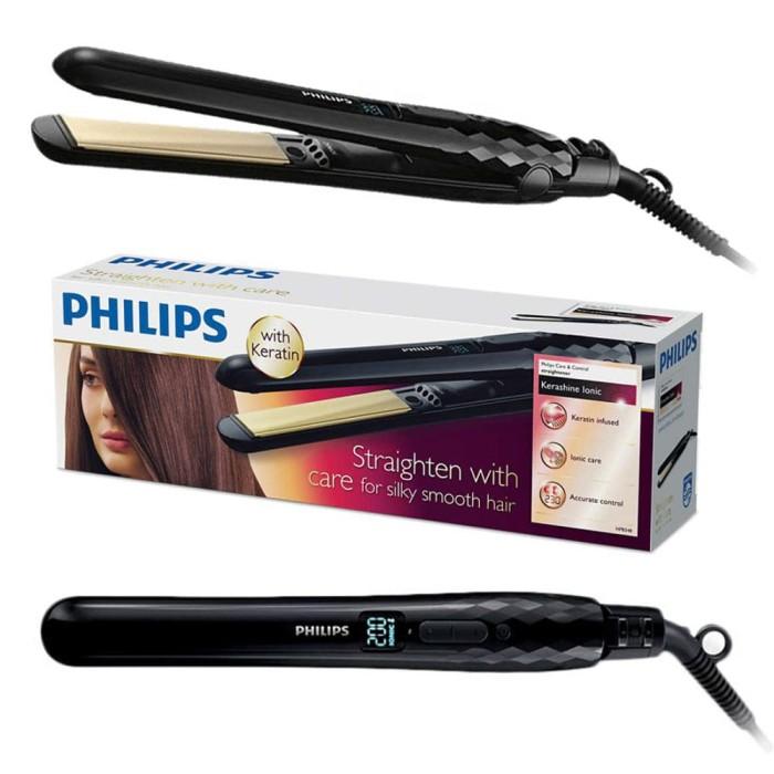 Jual Philips Catokan Rambut Hair Straightener Pelurus Rambut HP 8348 ... 6662343c224