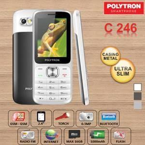 harga Polytron c246 casing metal hp handphone simpel portable dualsim radio Tokopedia.com