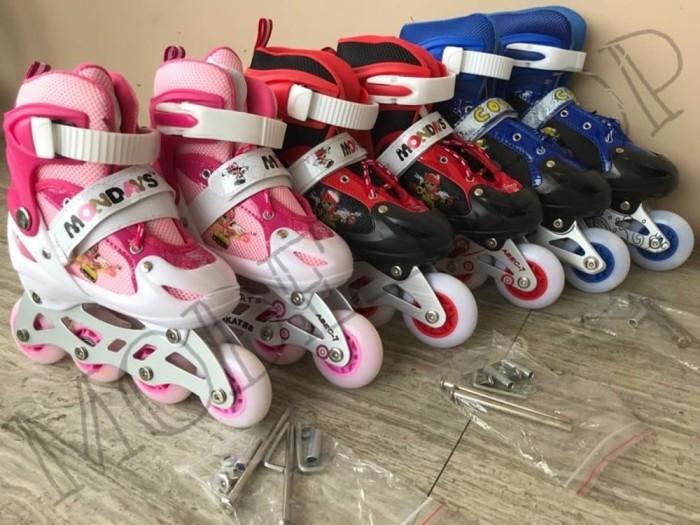 Jual termurah Sepatu Roda Anak Power Inline Skate POWER RODA NYALA ... c6a29fcf24