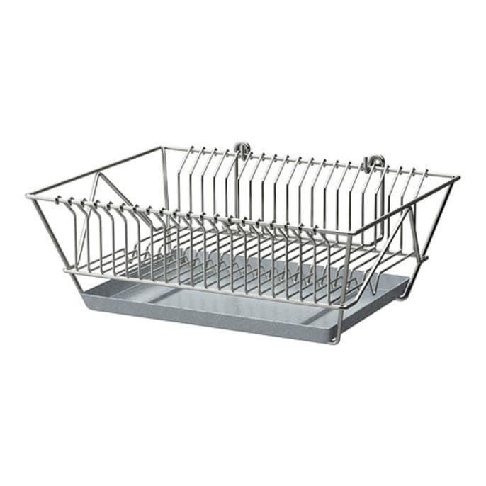 IKEA FINTORP Pengering piring, dilapisi nikel
