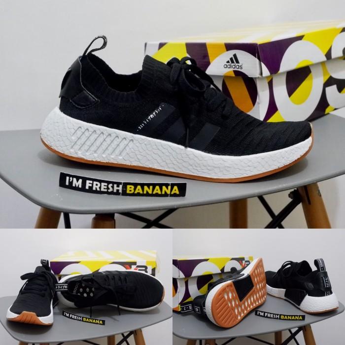 a638f1afc ... harga Sepatu running adidas nmd r1 pk boost japan jepang black white  hitam Tokopedia.com