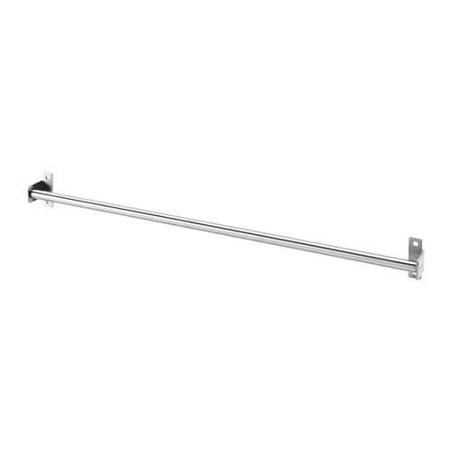 Ikea kungsfors rel 56cm rel penyimpanan dapur, rel dinding, rel handuk