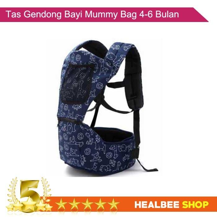 HLS Mummy Bag Tas Gendong Bayi 4-6 Bulan