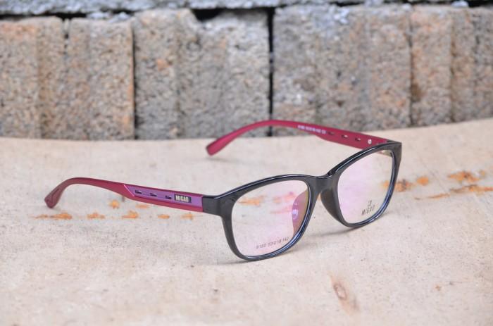 ... harga Kacamata minus 8180 pria wanita (frame+lensa) migao anti radiasi  Tokopedia. da4145d949