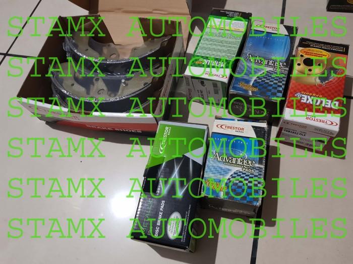 harga Brake pads trestor deluxe toyota great corolla 92-01 depan sepasang Tokopedia.com