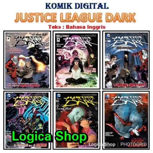 harga Komik digital justice league dark lengkap (ebook) Tokopedia.com