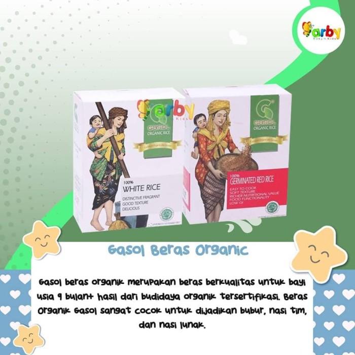 harga Gasol beras organic (white rice / germinated red rice)-1box Tokopedia.com
