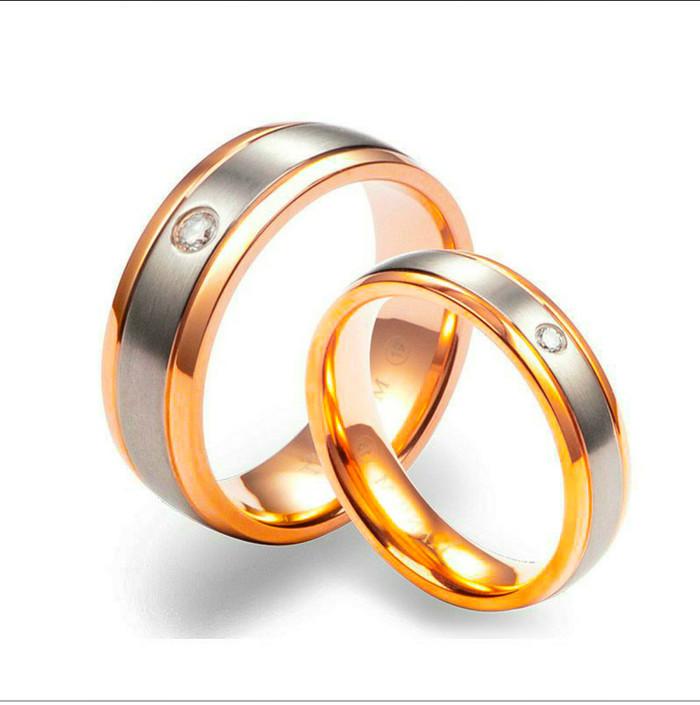 Jual Cincin Tunangan Kawin Couple Berlian Eropa Original Diamond Asli Jakarta Timur Toko Mas International Tokopedia