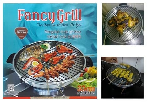 Fancy grill maspion - pemanggang serbaguna .
