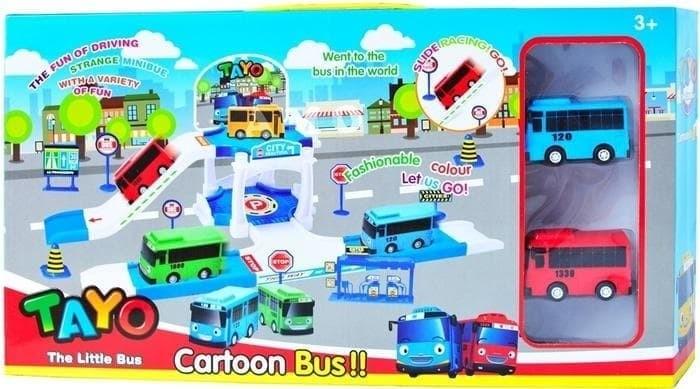 Jual Tayo Parking Zy 002 Mainan Anak Little Bus Tayo Jakarta Selatan Mainan Baru Online Tokopedia