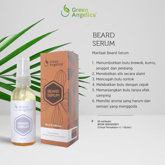 harga Beard serum green angelica produk penumbuh brewokjambang Tokopedia.com