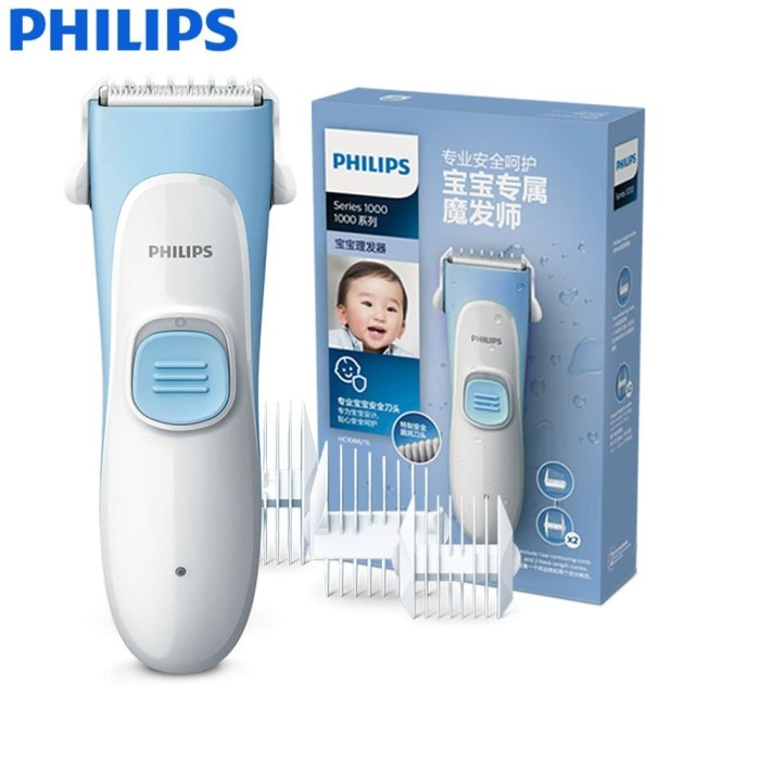 harga Philips kid-friendly hair clipper pencukur rambut anak hc 1055 philips Tokopedia.com