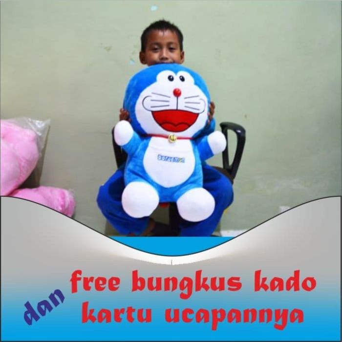 Jual Boneka Doraemon Lucu Imut 50 Cm Sni Kota Surabaya Kadoaja Tokopedia