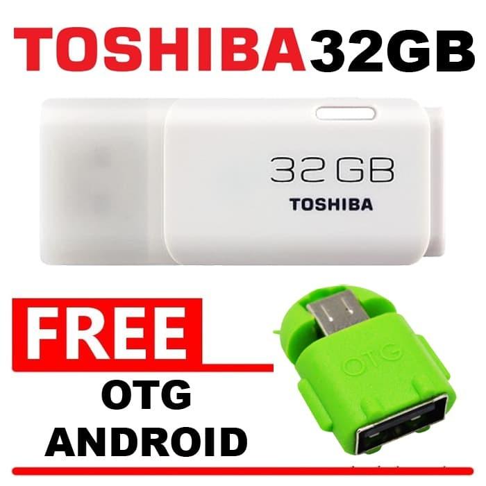 harga Flashdisk toshiba hayabusa 32gb bonus otg android flasdisk flash disk Tokopedia.com