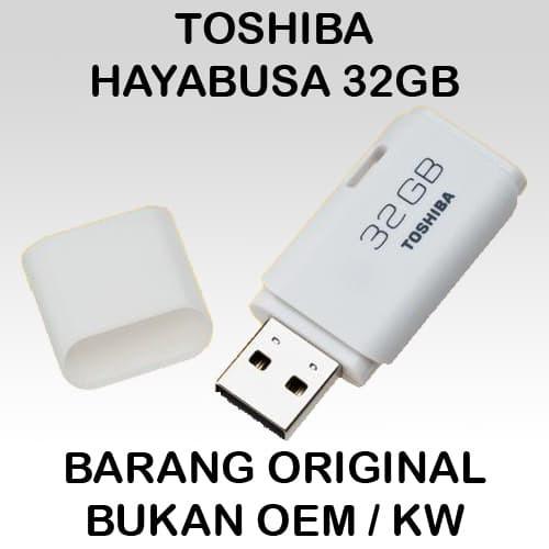 Flashdisk toshiba hayabusa 32gb original .