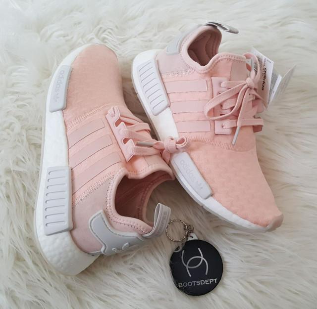 50963913220 Jual Adidas NMD R1 Ladies - Salmon Pink   Soft Pink Light Grey - Kab ...