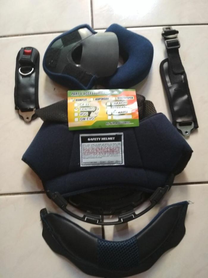 harga Busa helm half face full 1 set ink centro jet Tokopedia.com