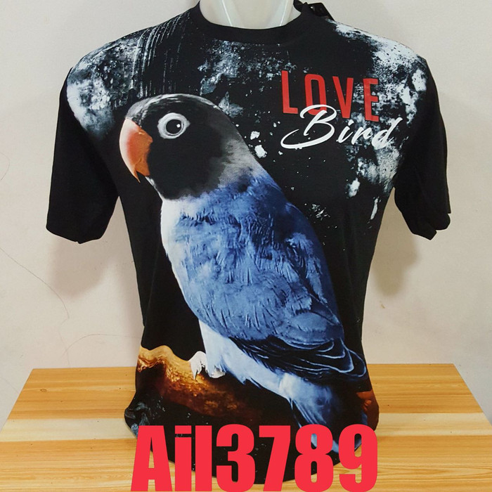 harga Ail3789 kaos distro original baju pria dewasa motif burung love bird Tokopedia.com