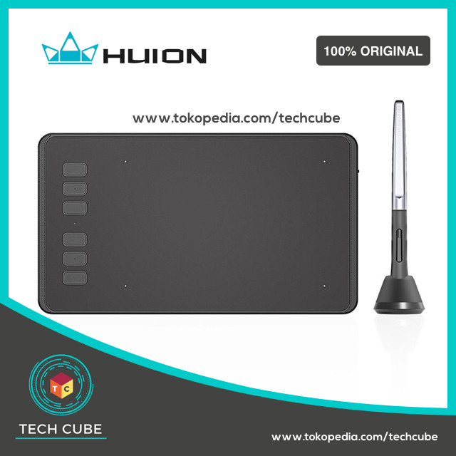 harga Huion h640p graphic drawing pen tablet for osu game Tokopedia.com