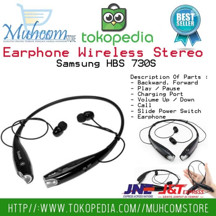 harga Earphone headset wireless stereo samsung hbs 730s ultimate style sound Tokopedia.com