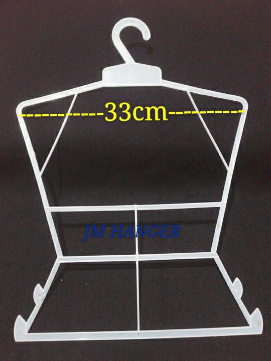 Foto Produk Hanger layang Tanggung M / Gantungan setelan Anak Tanggung - Putih dari jonidisplay