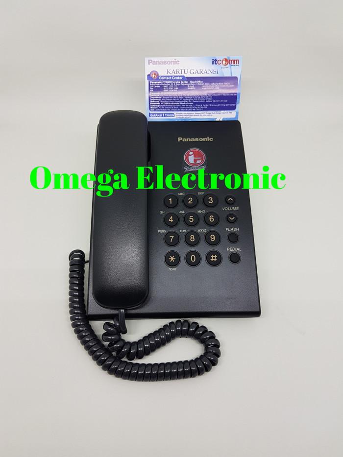 harga Resmi panasonic kx-ts505mx - pesawat telepon kantor rumah kabel Tokopedia.com