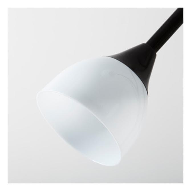 IKEA NOT Lampu Lantai Sorot Atas | Lampu Baca Hitam | Double Lamps