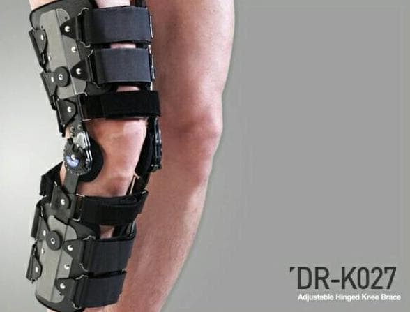 41d08925b7 Jual DR MED K027 - KNEE BRACE DIAL LOCK HINGED ONE SIZE FIT ALL (R/L ...