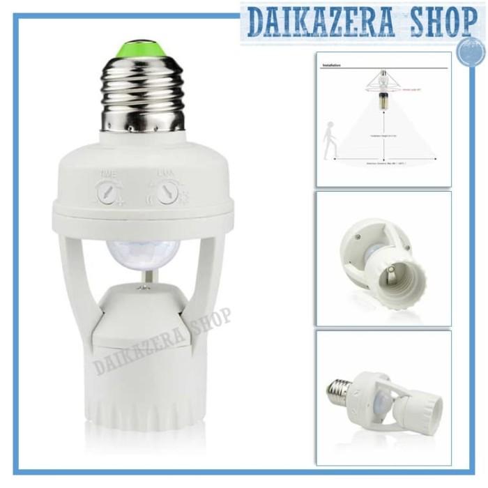 harga Smart fitting e27 lampu bohlam dengan infrared sensor gerak Tokopedia.com