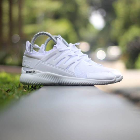 ... czech adidas tubular radial triple white putih sepatu running gym wanita 21241 587e3
