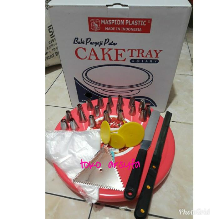 Foto Produk alat dekorasi kue / penghias kue lengkap dari toko arsyfa
