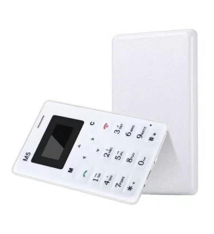 harga Handphone credit card slim mini aiek m5 kartu kredit bisa bluetooth Tokopedia.com