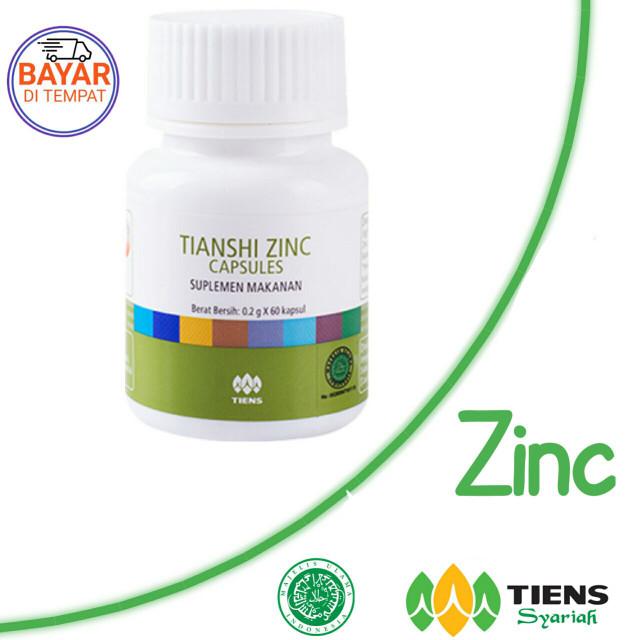 Peninggi Badan Herbal Tiens Calcium dan Zinc Promo Paket 10 Hari