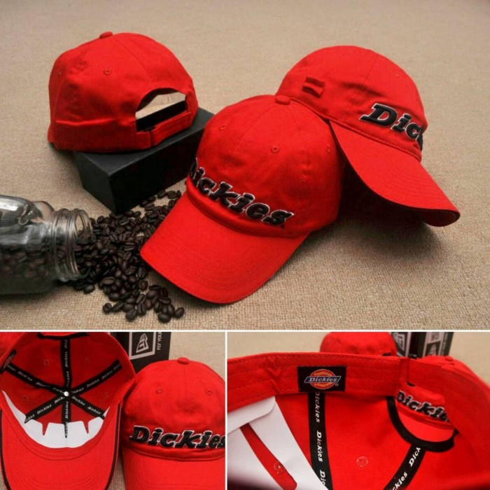 Topi baseball dickies   dickies cap original import   hat harga ... a8db80d629