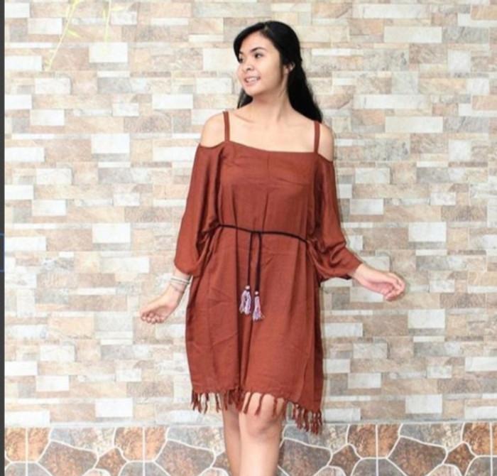 harga Baju pantai bohemian dress Tokopedia.com