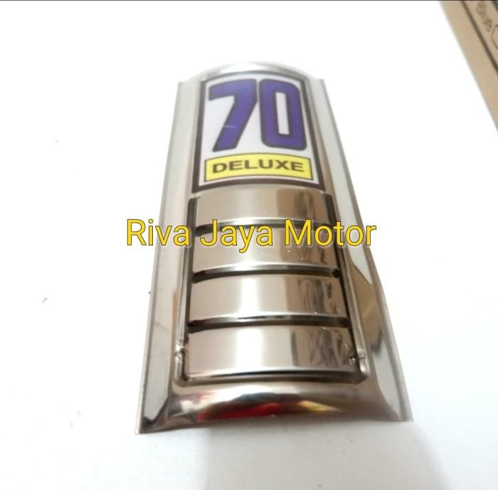 harga Emblem tameng panel dada c70 chrome Tokopedia.com