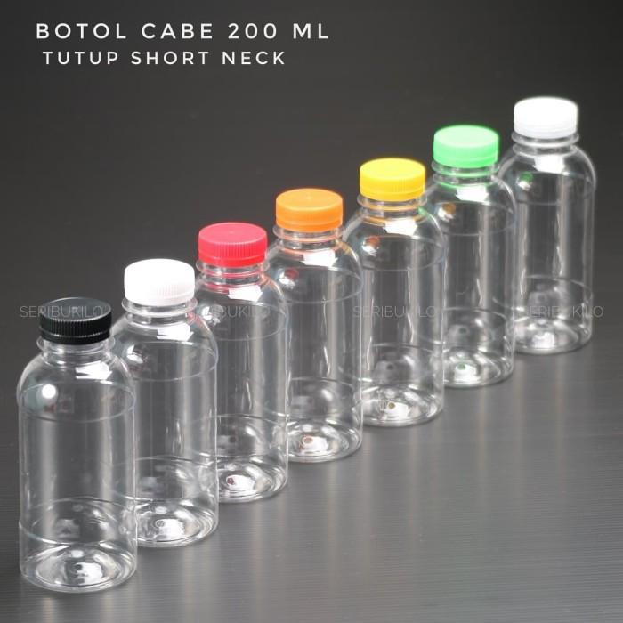 Foto Produk Botol Plastik 200 ml - Botol Cabe 200 ml dari Seribu Online