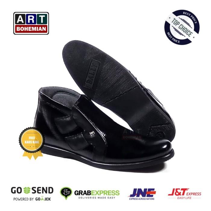 harga Sepatu kulit boots casual pantofel pria bally zipper Tokopedia.com