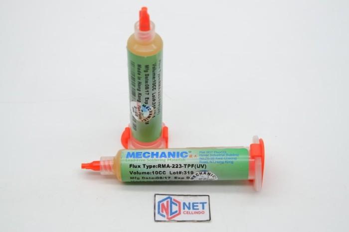 harga Flux amtech mechanic 10cc ori / pasta solder 10 cc ori Tokopedia.com