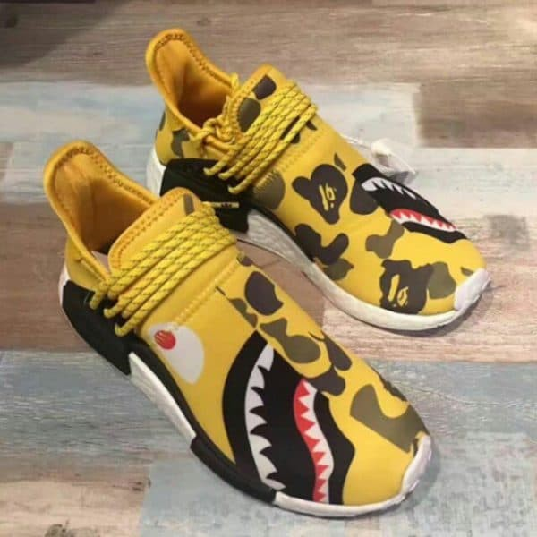 sale retailer d71bc 7b645 Jual Adidas Nmd Human Race R1 X Pharrell Williams X Bape Yellow Shark Camo  - Jakarta Barat - SneakersHQ | Tokopedia