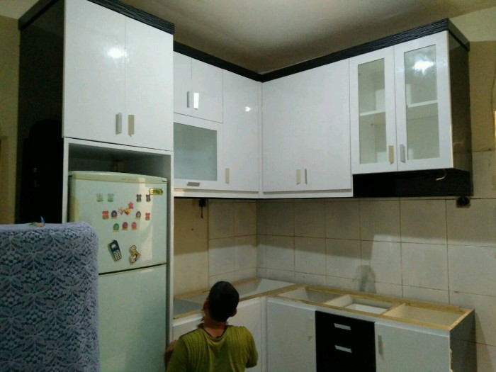 Jual Dapur Minimalis Modern Di Jakarta Dan Sekitarnya Jakarta Timur Mozaikfurnitur Tokopedia