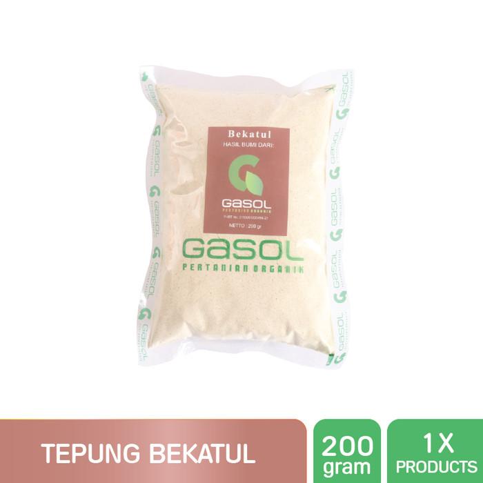 harga Gasol organik tepung bekatul 200gr / organic rice brand Tokopedia.com