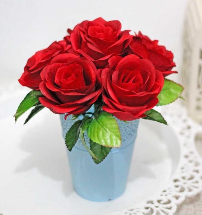 harga Bunga plastik artificial artifisial palsu mawar dekorasi pot shabby a8 Tokopedia.com