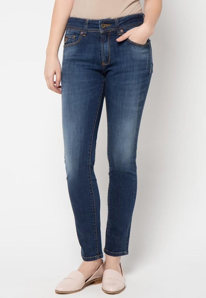 lois jeans original - celana panjang wanita ftw204d - biru 31