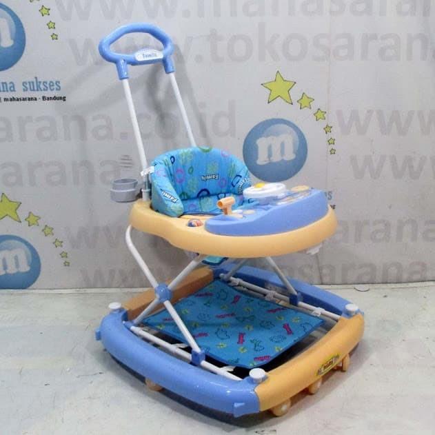 harga 3 in 1 family fb2121 musik car melody baby walker-ayunan-dorongan-bayi Tokopedia.com