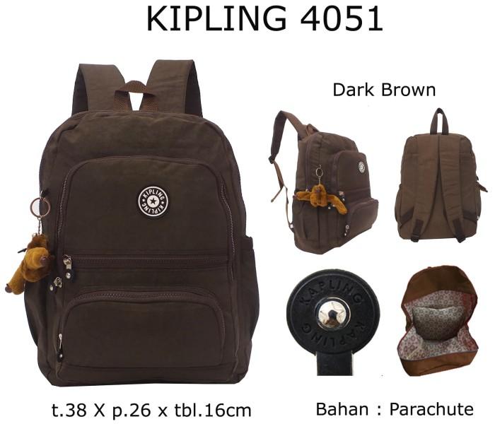 Kipling Tas Ransel Wanita Coklat - Daftar Harga Terbaru dan ... a9af2b21a1